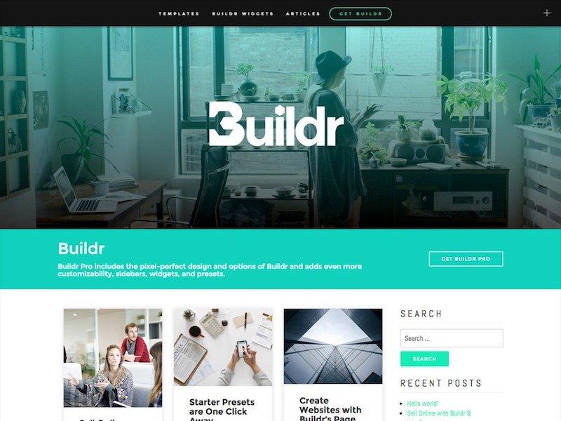 Buildr WordPress Theme