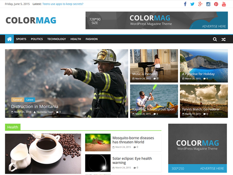 ColorMag WordPress Theme