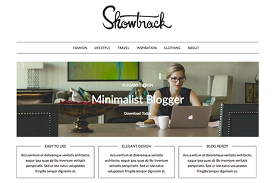 MinimalistBlogger A Free WordPress Theme