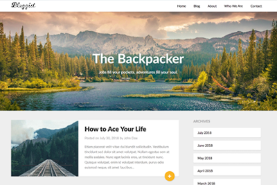 Bloggist Free and Premium WordPress Theme