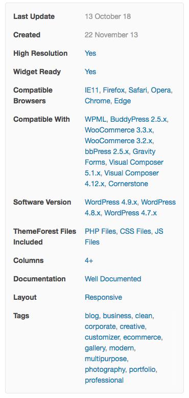 X Theme WordPress