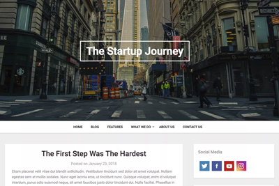 Businessly A Free WordPress Theme