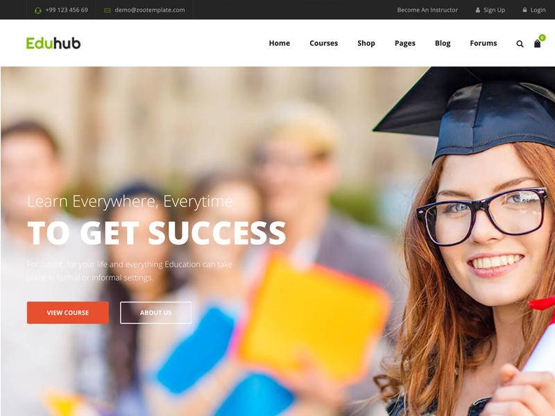Eduhub Educational WordPress Theme