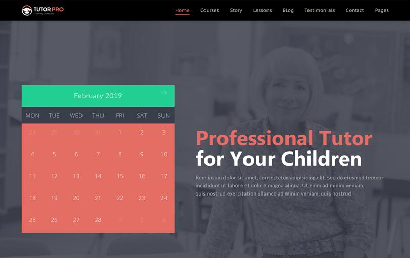 Tutor Pro Educational WordPress Theme