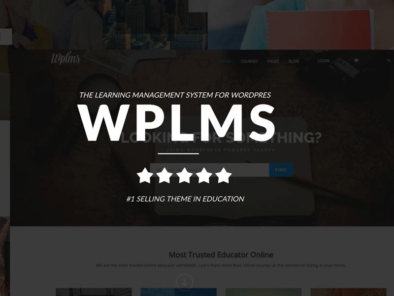 WPLMS Educational WordPress Theme